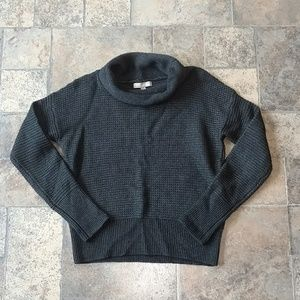 Banana Republic gray wool blend sweater
